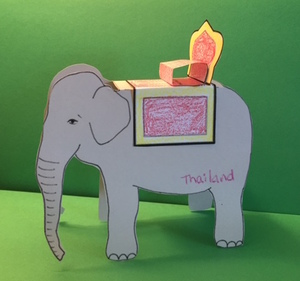 Thailand Geography Craft for Kids