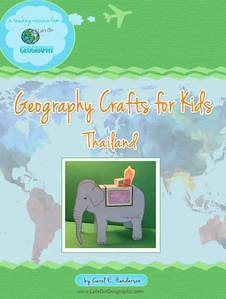 Geography Craft for Kids: Thailand