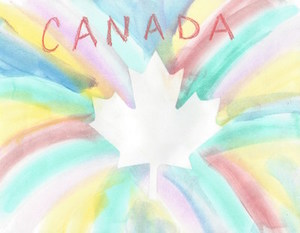 Geography Craft for Kids, Canada