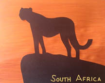Geography Craft for Kids, South Africa