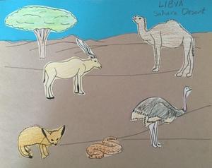 Geography for Kids, Libya