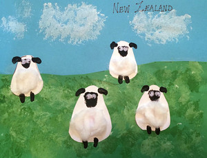 Let's Go Geography Craft for New Zealand