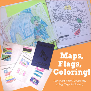 Let's Go Geography Maps, Flags, Coloring
