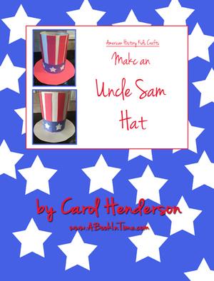 US History Kids Craft: Uncle Sam Hat