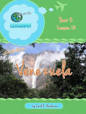 Let's Go Geography Country Unit Study Venezuela