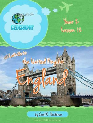 Let's Go Geography Country Unit Study England
