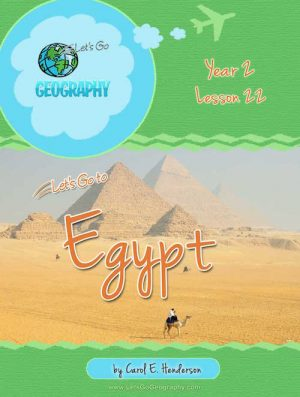 Let's Go Geography Country Unit Study Egypt