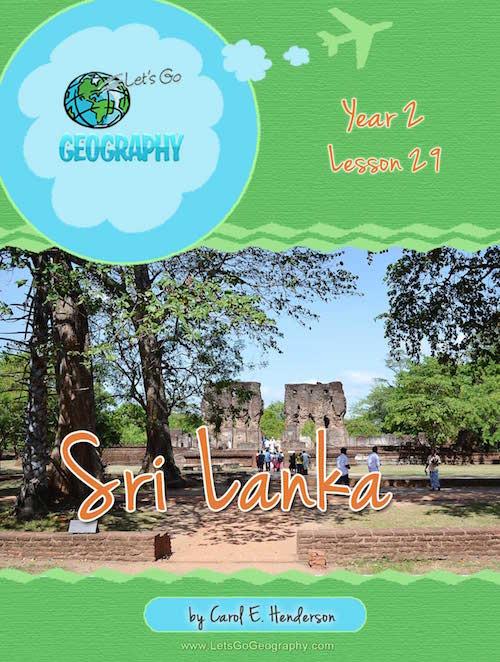 Let's Go Geography Country Unit Study Sri Lanka