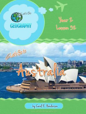 Let's Go Geography Country Unit Study Australia